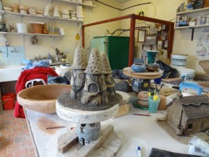 The Pottery shop at Oaktree Farm