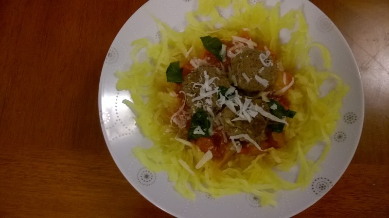 Recipe of the Month – With Spaghetti Squash