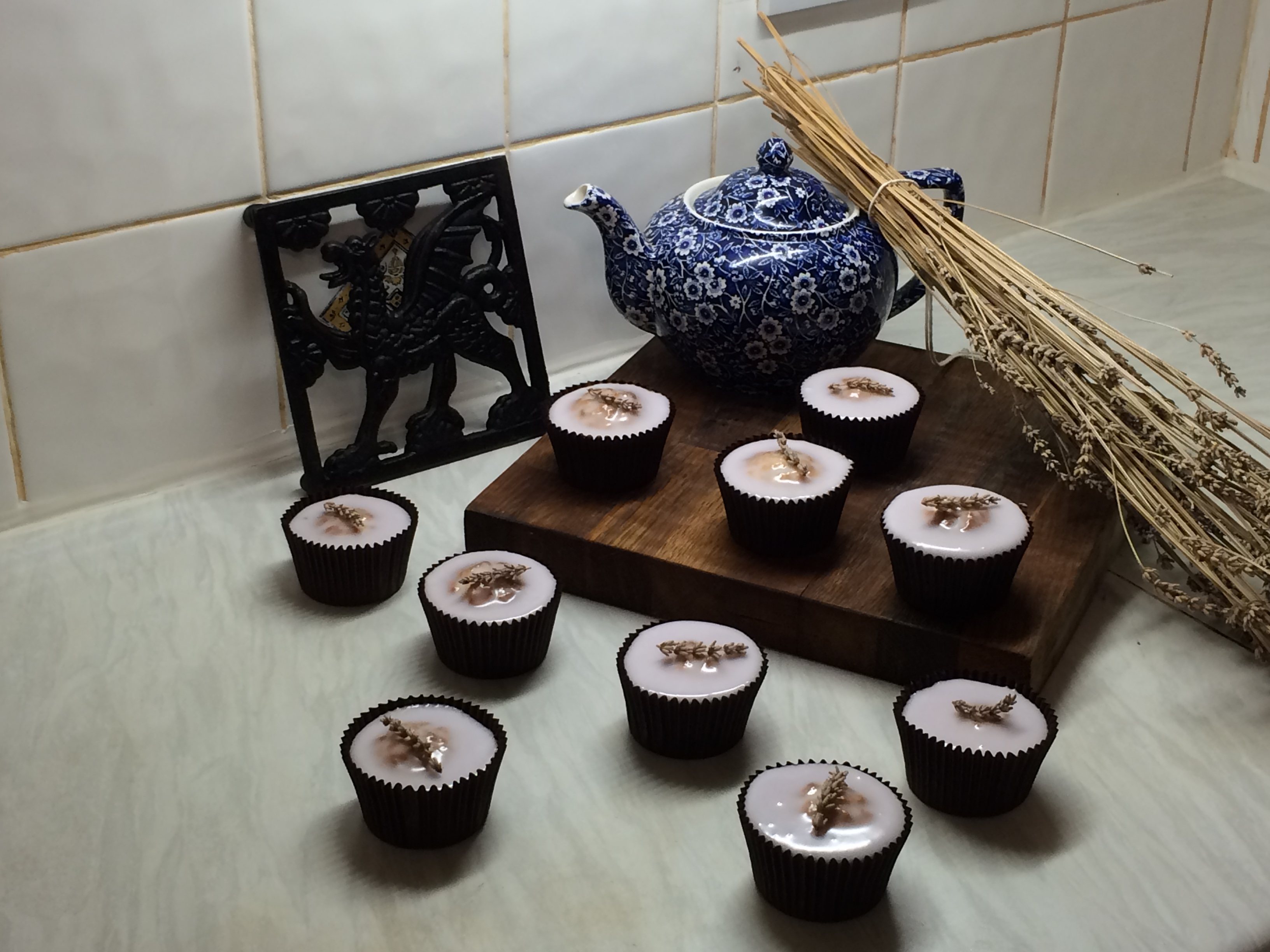 Recipe of the month- Lavender Cakes