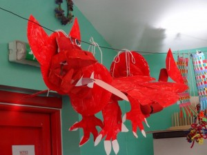 welsh dragon from a different angle