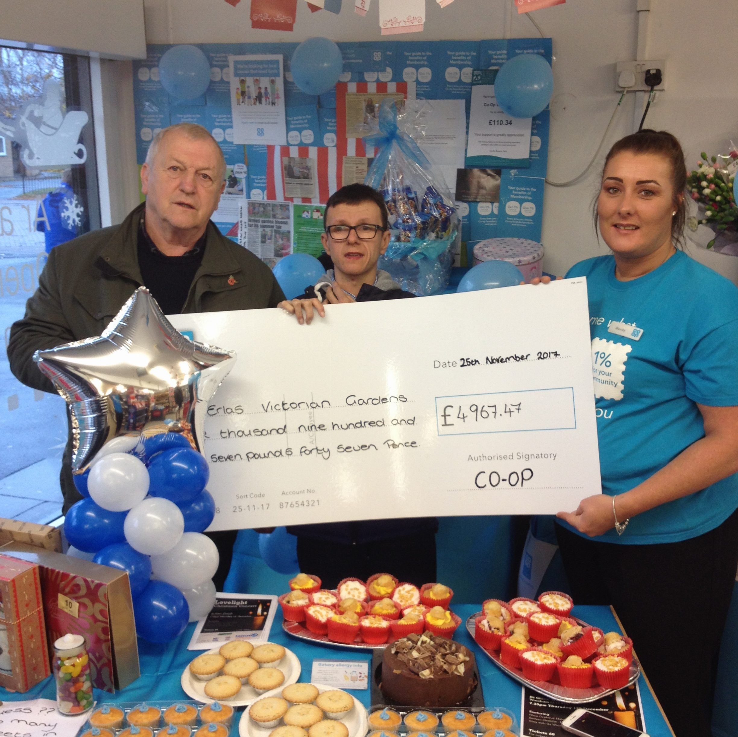 Celebration of our success in the Co-op Community Fund