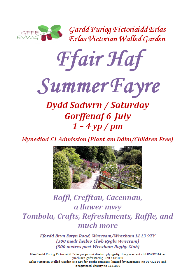 Summer Fayre – 6th July 2019